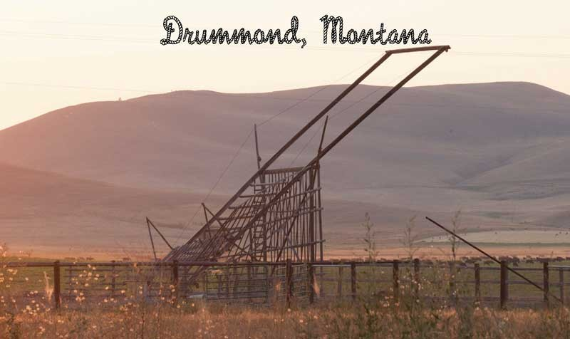 Town of Drummond, Montana